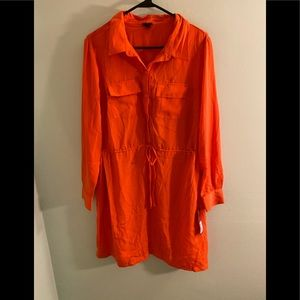NWT orange Merona dress